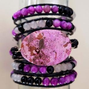 Enrapture (Wrap Bracelet with Purple)