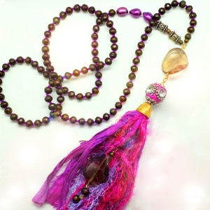 Manifestation of Magic and Miracles Heart and Root Mala