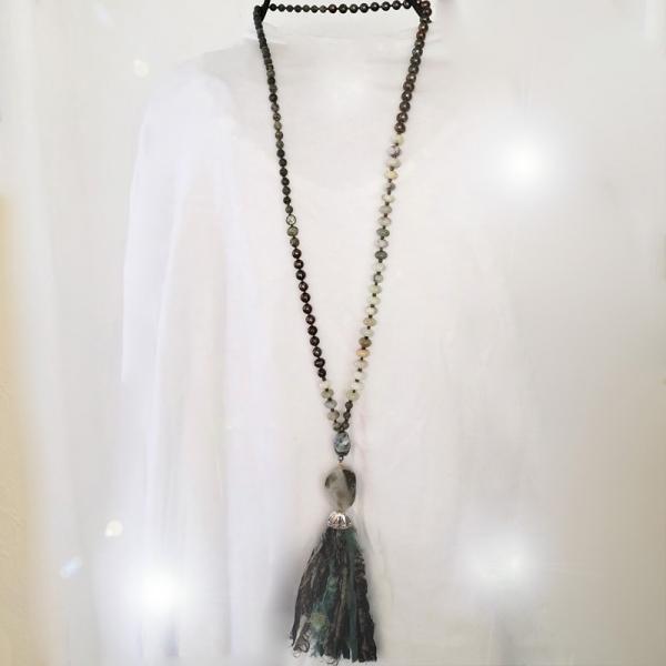 Manifestation of Magic and Miracles Mala (worn long)