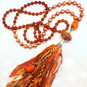 Manifestation of Magic and Miracles Sacral Chakra Mala
