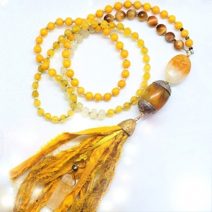 Manifestation of Magic and Miracles Solar Plexus Chakra Mala