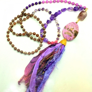 Manifestation of Magic and Miracles Third Eye Chakra Mala