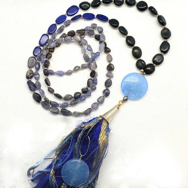 Manifestation of Magic and Miracles Throat Chakra Mala